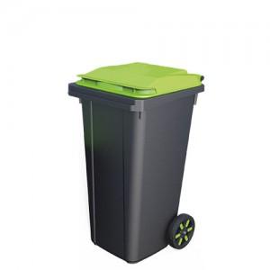 Контейнер для мусора пластиковый 80 литров